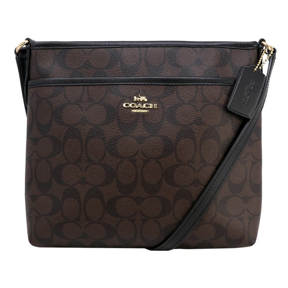 Coach Handbags - FILE CROSSBODY IN SIGNATURE CANVAS (COACH F29210)